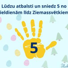 Lūdzu sniedz palīdzīgu 🤚 no Lieldienām līdz Ziemassvētkiem! Lūdzu dalies! 🙏