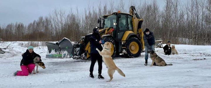 Īpašs paldies čaklajiem sniega tīrītājiem!